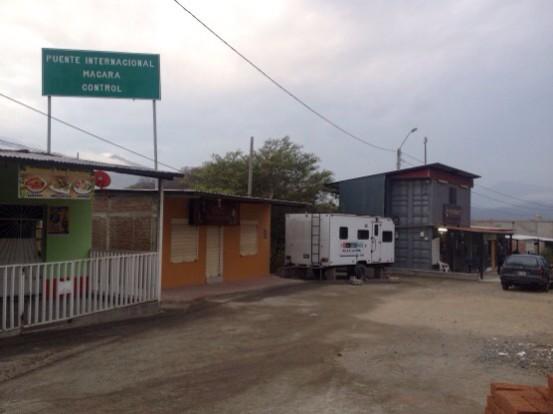 De grensovergang Ecuador – Peru (Loja – Piura)