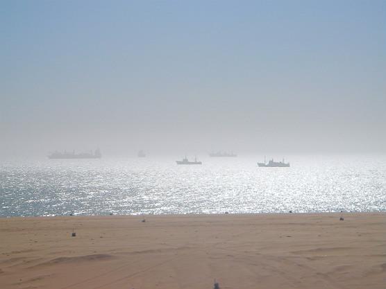 Langstrand Namibie