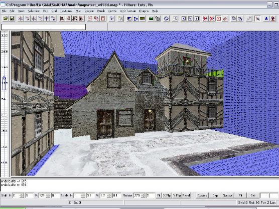Vanuit het oog van de developer: De ontwikkeling van Wingen-sur-Moder in MOHRadiant.