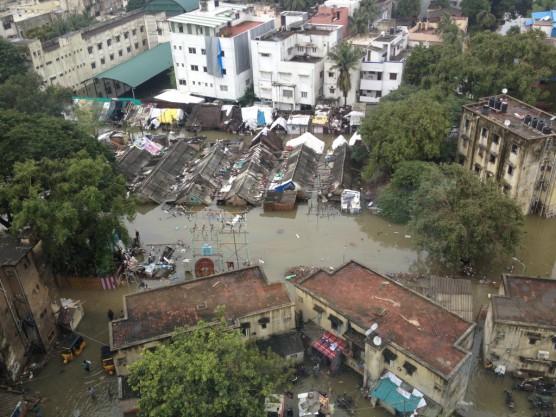 Chennai flooding