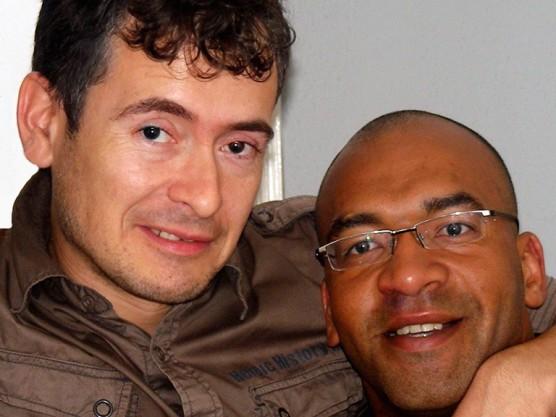 Mark Aarts en Junior Andrade